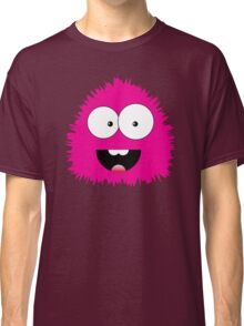 Funny cartoon pink monster Classic T-Shirt