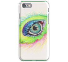 feather eye iPhone Case/Skin