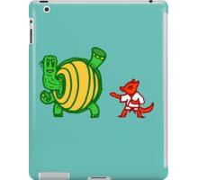 Turtle vs Fox iPad Case/Skin