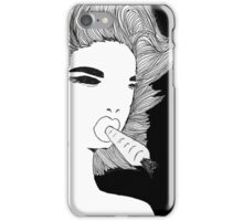 Funny Bunny Girl iPhone Case/Skin