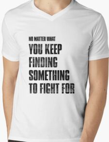The Last of Us Mens V-Neck T-Shirt
