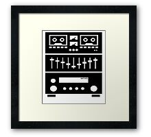 My Components Weigh A Ton! Framed Print