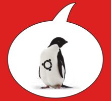 """Ubuntu"" Penguin tattoo One Piece - Short Sleeve"