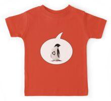 """Ubuntu"" Penguin tattoo Kids Tee"