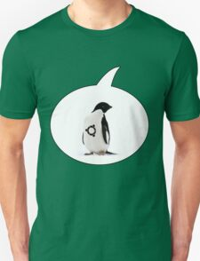 """Ubuntu"" Penguin tattoo Unisex T-Shirt"