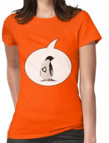 """Ubuntu"" Penguin tattoo Womens Fitted T-Shirt"