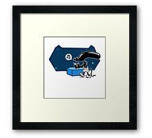 Steamboat Xenomorph Framed Print