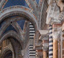 Siena Cathedral Interior Sticker