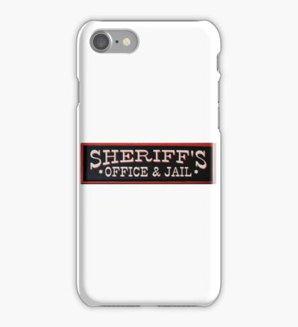 Sheriff's Office  iPhone Case/Skin