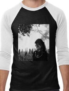 Cemetery Men's Baseball ¾ T-Shirt