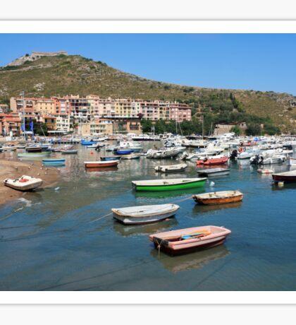 Porto Ercole Italy Sticker