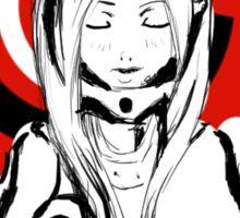 Deadman Wonderland Shiro fan art Sticker