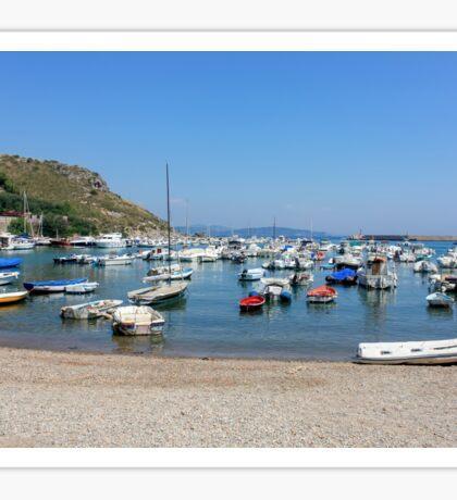 Boats Porto Ercole Italy Sticker