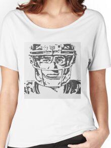 Eli Manning Portrait Women's Relaxed Fit T-Shirt