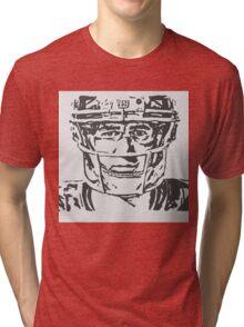 Eli Manning Portrait Tri-blend T-Shirt