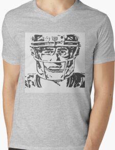 Eli Manning Portrait Mens V-Neck T-Shirt