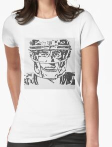 Eli Manning Portrait Womens Fitted T-Shirt