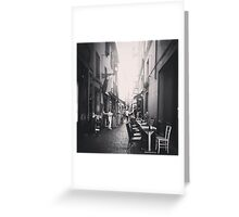 Quiet Street Greeting Card
