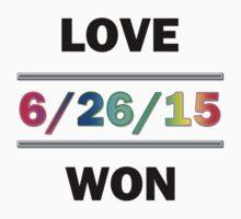 Love Won by Chris  Bradshaw