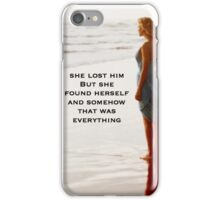Taylor Swift Out of The Woods Single cover iPhone Case/Skin