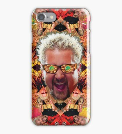 God Guy Fieri's Hot Dog Diggityverse iPhone Case/Skin
