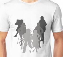 Tales of the Abyss cast silhouette Unisex T-Shirt