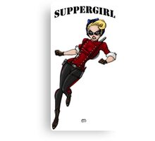 SupperGirl Canvas Print