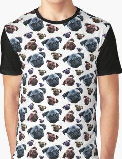 Pugs 4 Life Graphic T-Shirt