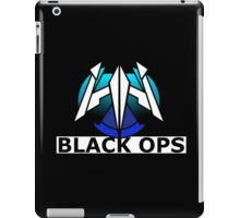Black Ops Trident Patch iPad Case/Skin