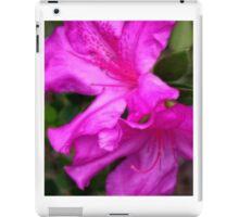 Purple Azalea II iPad Case/Skin