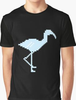Blue Flamingo! Graphic T-Shirt