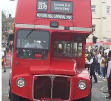 London Bus by LondonLass2016