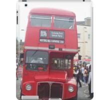 London Bus iPad Case/Skin