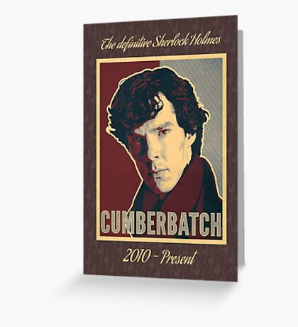 The Definitive Holmes BC - Rustic Greeting Card