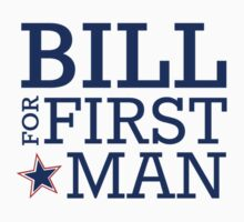 Bill for First Man Baby Tee