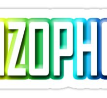 Schizophonic Sticker