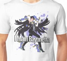 I Main Bayonetta - Super Smash Bros Unisex T-Shirt
