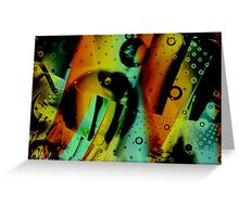 Kids Room - Fun Abstract Art Greeting Card