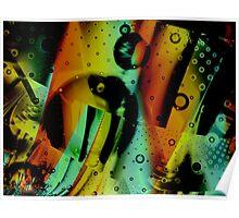 Kids Room - Fun Abstract Art Poster