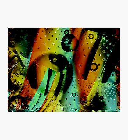 Kids Room - Fun Abstract Art Photographic Print
