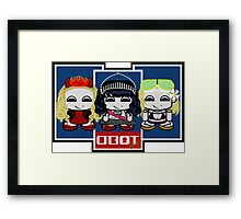 SQUAD: Cecilia & Friends Framed Print