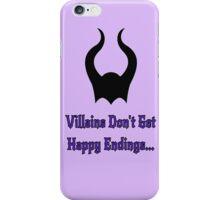 Villains iPhone Case/Skin