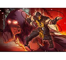 MKX Scorpion Photographic Print