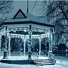 Winter's Evening At The Bandstand by jules572