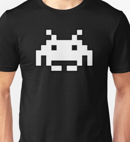Classical Space Invader Unisex T-Shirt