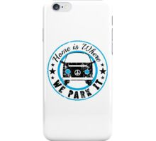VW Where we park it iPhone Case/Skin