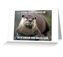 Confused Greeting Card