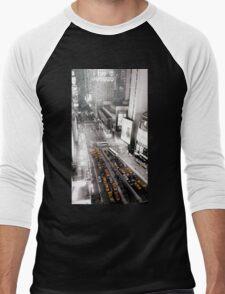 city of new york Men's Baseball ¾ T-Shirt