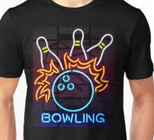 Neon Sign - Bowling Unisex T-Shirt