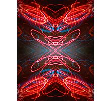 Neon Lust Photographic Print